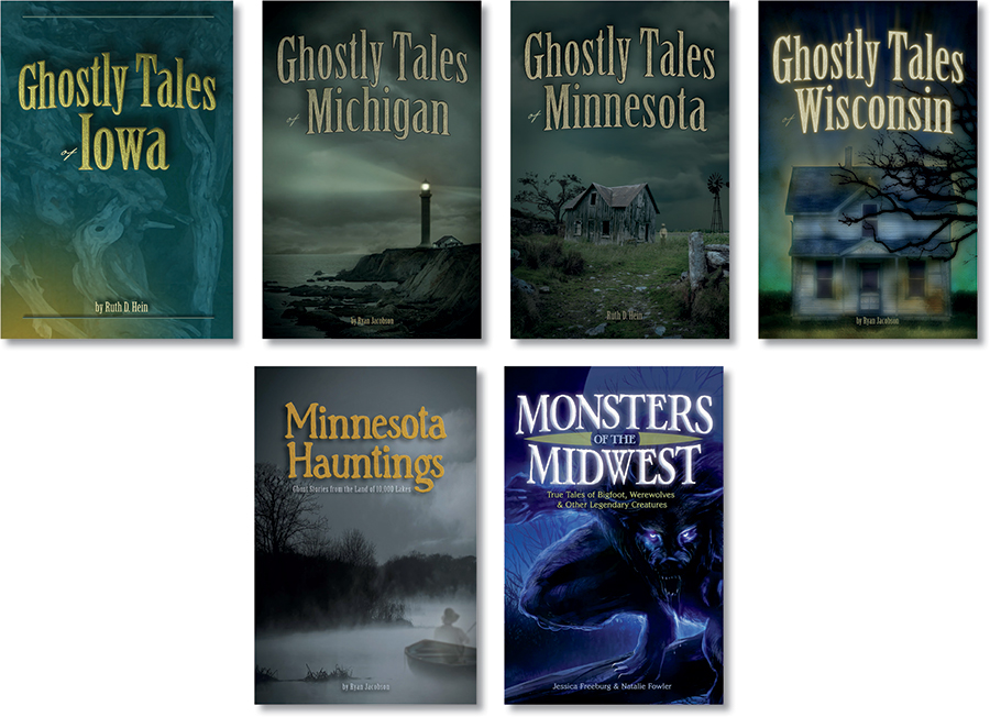 Ghostly Tales and other Halloween books for kids